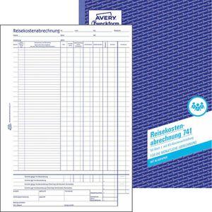 Reisekostenabrechnungen Zweckform 741