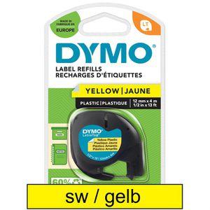 Schriftband Dymo 91222, LetraTag, S0721670, 12mm