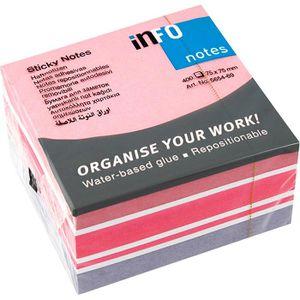 Haftnotizen Info Sticky Notes Cubes, 5654-69