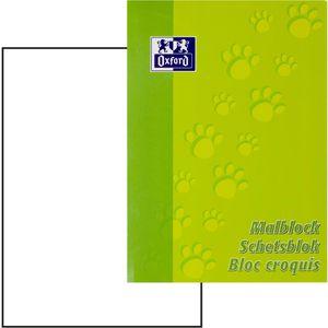 Zeichenblock Oxford Junior Tatzen 100050303, A4