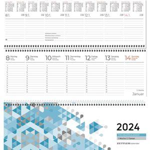 Tischkalender Zettler 116, Jahr 2022