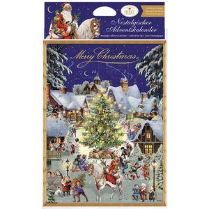 Adventskalender Heidel Nostalgisch Merry Christmas