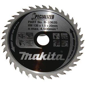 Kreissägeblatt Makita B 33635, Specialized