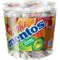 Kaubonbons Mentos Mini Fruit Mix Rolle, 120 Rollen