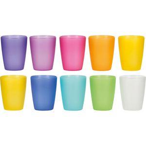 Trinkbecher Kigima Rainbow bunt, PP, 0,24 l