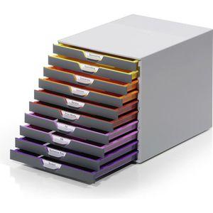 Schubladenbox Durable 761027, Varicolor 10, A4