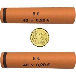 Münzhülsen Betec 3706, für Rollgeld