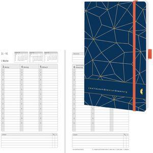 Buchkalender Chronoplan 50462 Origins Lattice 2022
