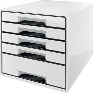 Schubladenbox Leitz 5253-10-01, WOW Cube, A4