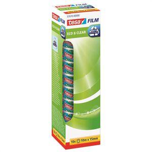 Klebeband Tesa 57070, Eco & Clear, 15mm x 10m