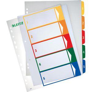 Register Leitz 1291-00-00, A4 Überbreite, 1-5