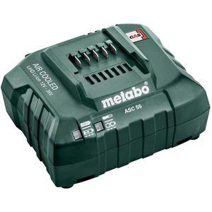 Werkzeugakku-Ladegerät Metabo ASC 55, AIR COOLED