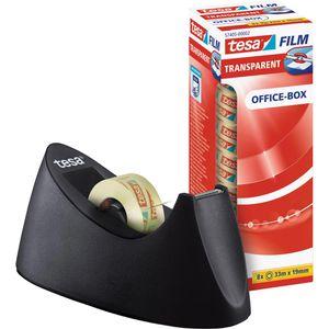 Klebefilmabroller Tesa 53918 Curve, schwarz