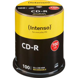 CD Intenso 700MB, 52-fach