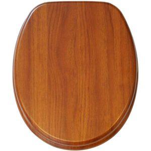 WC-Sitz Sanilo Mahagoni A684941, braun
