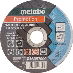 Trennscheibe Metabo 616359000 für Stahl, Edelstahl