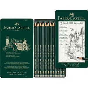 Bleistift Faber-Castell 9000 Design Set, 119064