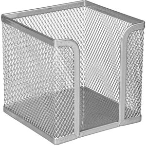 Zettelbox Böttcher-AG Mesh Line, silber