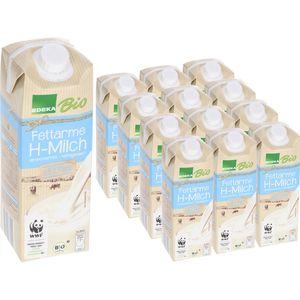 Milch Edeka fettarme H-Milch 1,5% Fett, BIO
