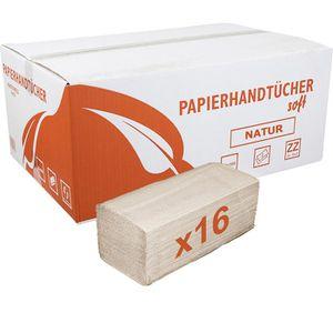 Papierhandtücher Böttcher-AG 2-lagig, natur