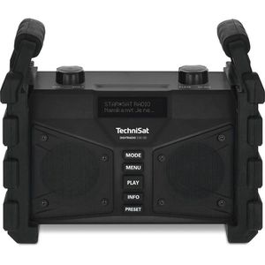 Baustellenradio TechniSat DIGITRADIO 230OD schwarz