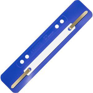 Heftstreifen Leitz 3710-00-35, 35 x 158mm, blau