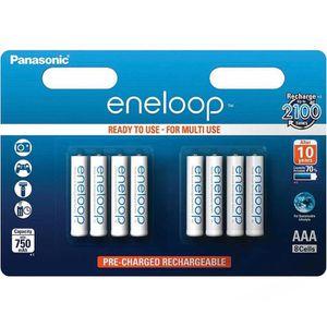 Akkus Panasonic Eneloop BK-4MCCE, AAA, 750 mAh