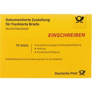 Einschreiben DeutschePost Unterschrift, national