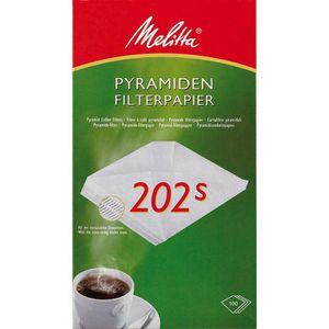 Filtertüten Melitta 202s, Pyramidenfilter