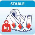 Zusatzbild Klebefilmabroller Tesa 57422 Easy Cut, rot / blau