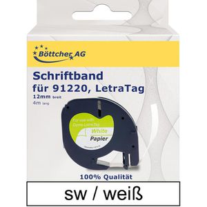 Schriftband Böttcher-AG für Dymo 91220, LetraTag