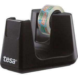 Klebefilmabroller Tesa 53904 Smart, schwarz