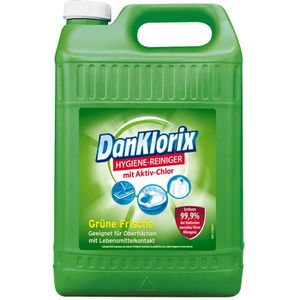 Hygienereiniger DanKlorix Grüne Frische