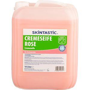 Seife SKINTASTIC Cremeseife rose, für Druckspender