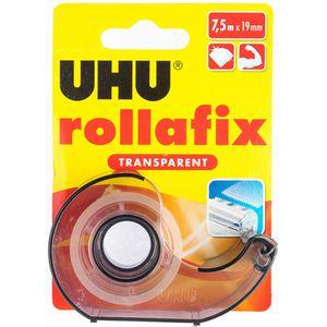 Klebefilmabroller UHU 36955 rollafix, transparent
