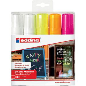 Kreidemarker Edding 4090-5999, Neonfarben sortiert
