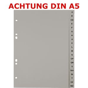 Register Böttcher-AG A5, A-Z