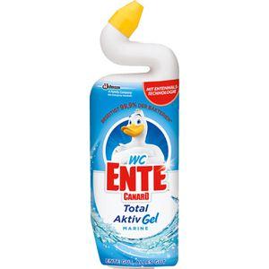 WC-Reiniger WC-Ente Total Aktiv Gel Marine