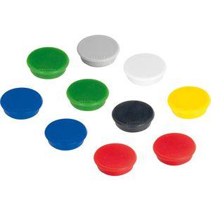 Magnete Franken HM20 99, rund, farbig sortiert