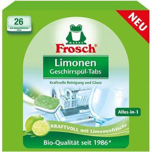 Spülmaschinentabs Frosch Limonen Alles in 1
