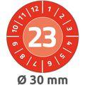 Prüfplaketten Zweckform 6944, mit Jahreszahl 2023