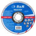 Trennscheibe S&R 131010125 für Stahl, Edelstahl