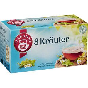 Tee Teekanne Wohltuende 8 Kräuter