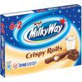 Schokoriegel Milky-Way Crispy Rolls, 150g