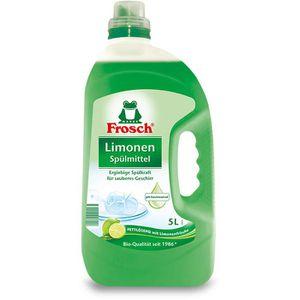 Spülmittel Frosch Bio-Qualität, Limonenfrische