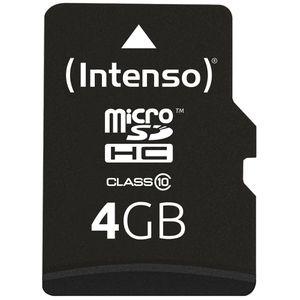 Micro-SD-Karte Intenso 3413450, 4 GB
