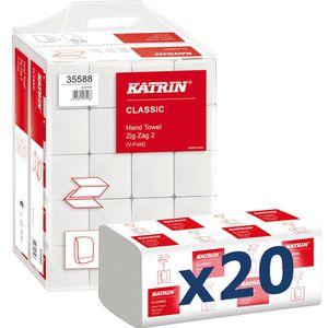 Papierhandtücher Katrin Classic Handy Pack, 35588