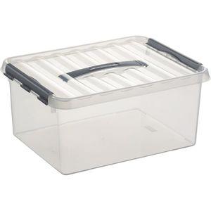 Aufbewahrungsbox Sunware Q-Line Box 78300609, 15L