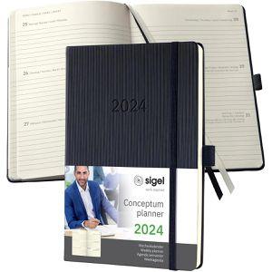 Buchkalender Sigel C2112 Conceptum, Jahr 2021
