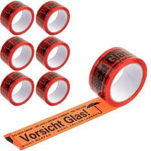 Signalpackband Böttcher-AG Vorsicht Glas